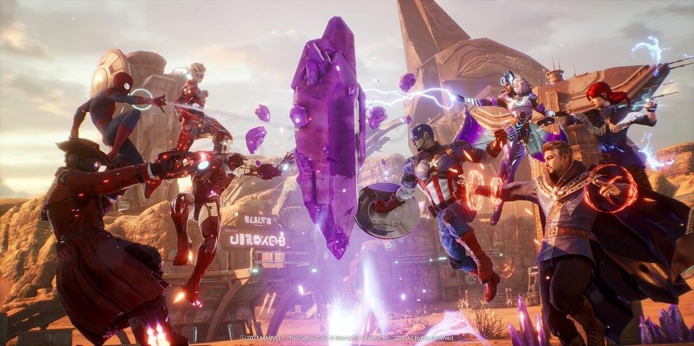 Marvel Future Revolution(マーベル・フューチャーレボリューション) ゲームモード『オメガ戦争』紹介イメージ