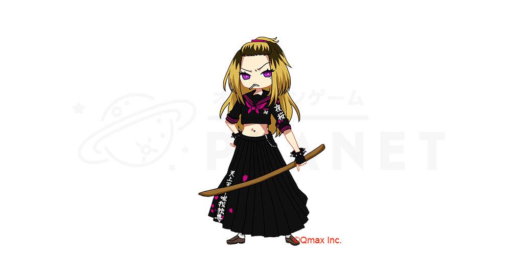 厨二病 鎮魂歌(レクイエム) ―Concertino Edgelord―(ちゅうれく) キャラクター『夜桜チヨ(ヨザクラ)』紹介イメージ