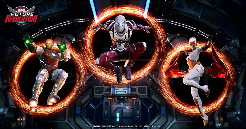 Marvel Future Revolution(マーベル・フューチャーレボリューション) ヒーローコスチュームカスタマイズ紹介イメージ