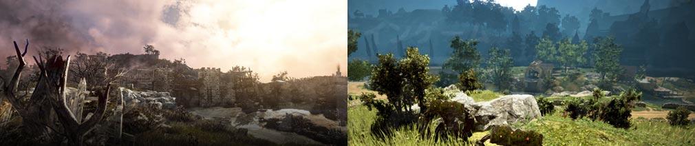 シャドウアリーナ(Shadow Arena) 「黒い砂漠」の世界観が引き継がれたフィールドスクリーンショット