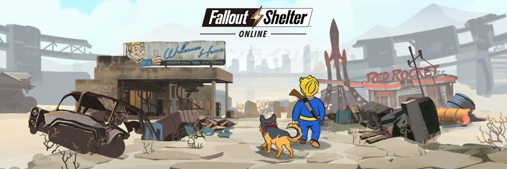 Fallout Shelter Online フッターイメージ