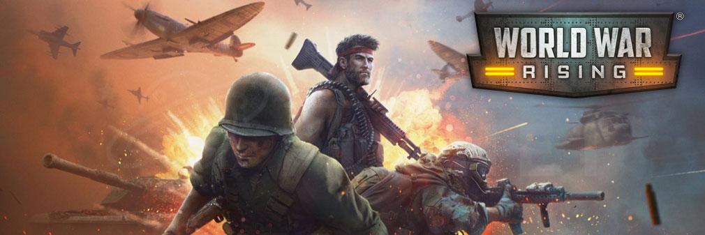 ワールドウォーライジング(World War Rising) フッターイメージ