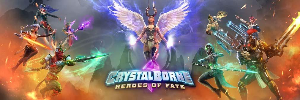 クリスタルボーン:ヒーローズ・オブ・フェイト(Crystalborne)クリフェ フッターイメージ