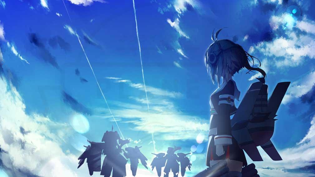 蒼藍の誓い ブルーオース 実在する艦隊がモチーフの『戦姫』紹介イメージ