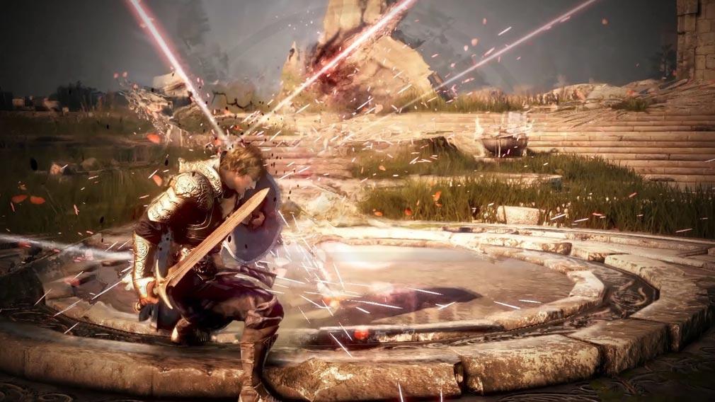 シャドウアリーナ(Shadow Arena) アクション性の高いバトルスクリーンショット