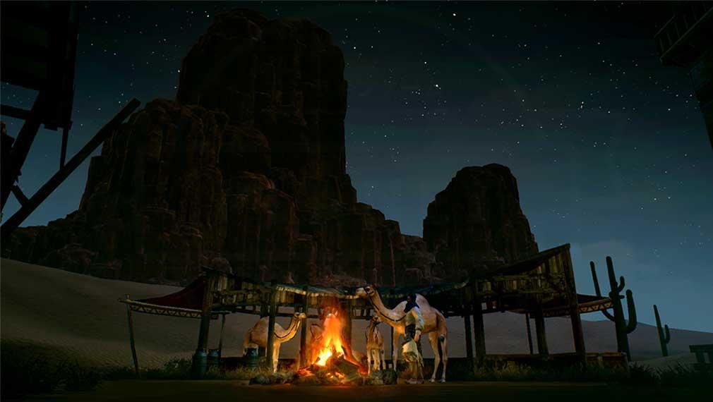 TRAHA(トラハ) 炎の力を崇拝する『ヴァルカン(VULCAN)』王国の砂漠スクリーンショット