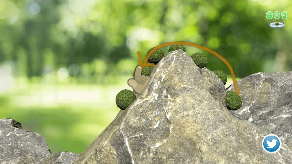 クマムシさん惑星 宇宙最強ゆるキャラ伝説 世界中の苔を採取するスクリーンショット