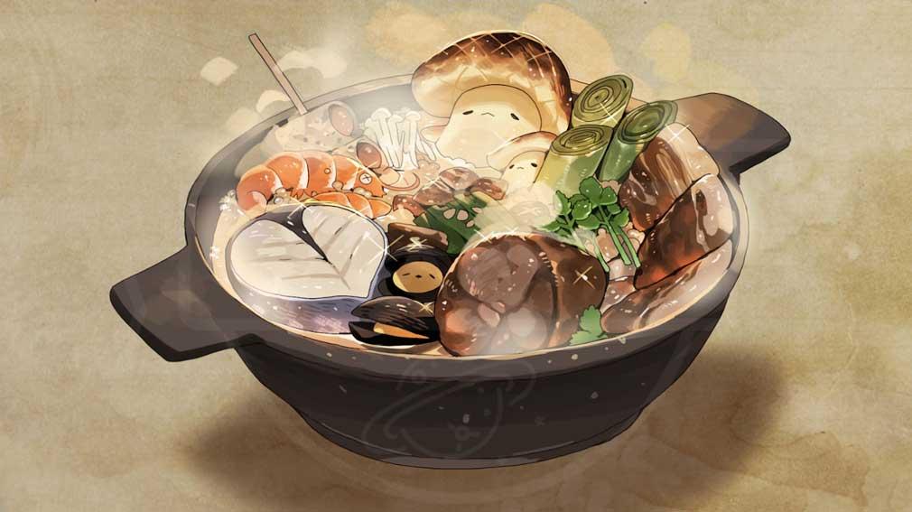 勇者の飯 乙女たちよ料理で王国を救え! 美味しそうな食事『鍋』紹介イメージ