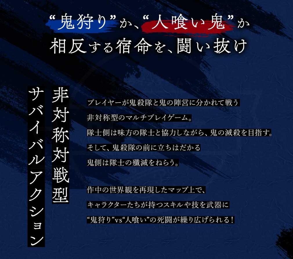 鬼滅の刃 血風剣戟ロワイアル(キメロワ) イントロダクション紹介イメージ