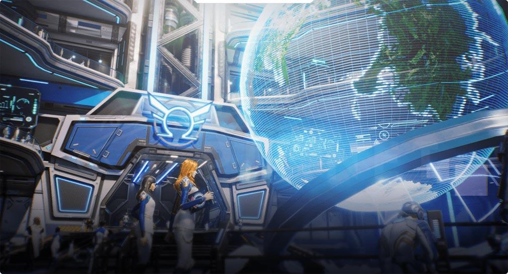 Marvel Future Revolution(マーベル・フューチャーレボリューション) エリア『オメガ飛行本部』紹介イメージ