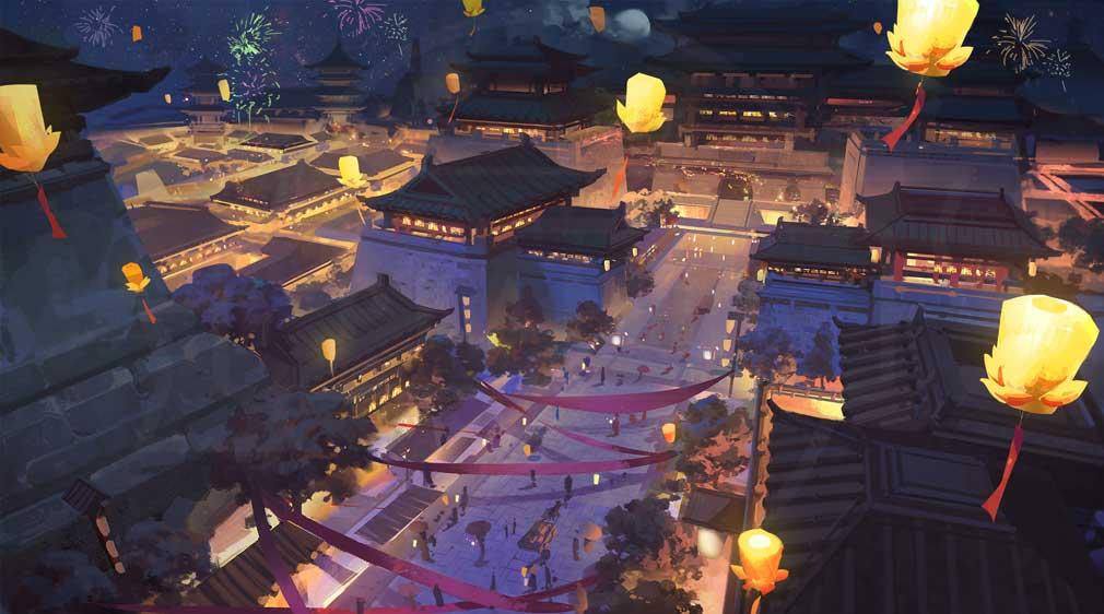 三国志ブラスト 少年ヒーローズ 世界観イラストイメージ