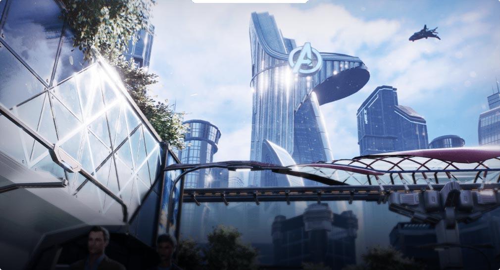 Marvel Future Revolution(マーベル・フューチャーレボリューション) エリア『ニュー・スターク・シティ』紹介イメージ
