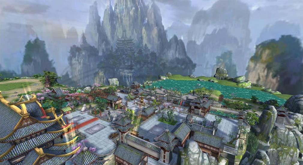 グランドレジェンド 蓬莱戦記 繁華な都市のマップスクリーンショット