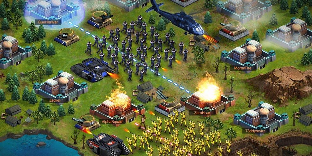 ワールドウォーライジング(World War Rising) バトルスクリーンショット