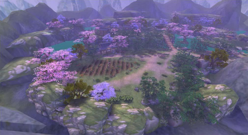 グランドレジェンド 蓬莱戦記 古風美麗な自然のマップスクリーンショット