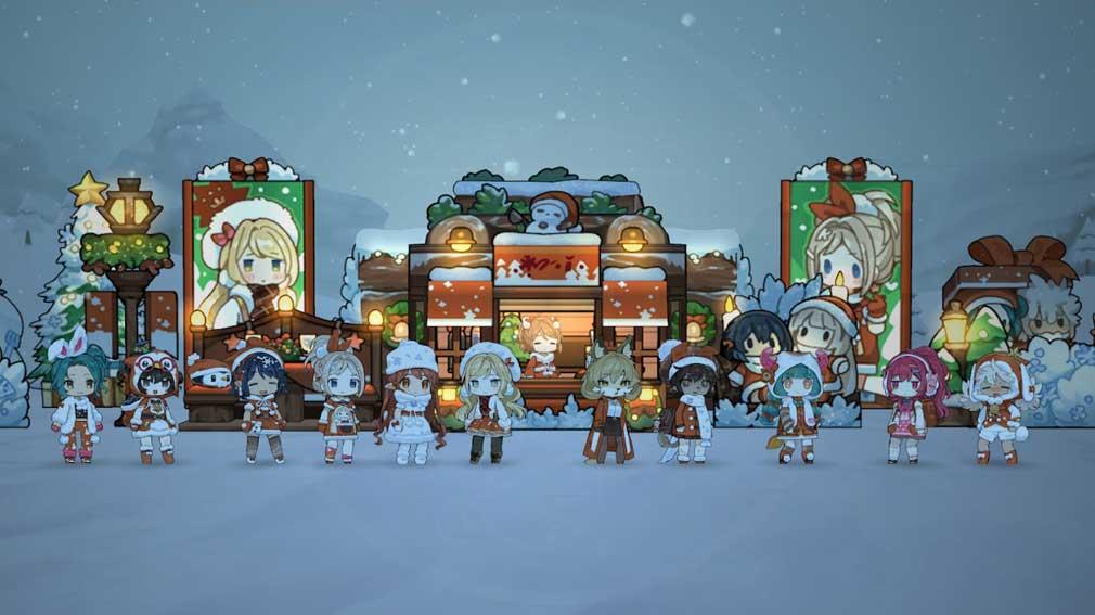 勇者の飯 乙女たちよ料理で王国を救え! 食堂カスタム『クリスマスバージョン』スクリーンショット