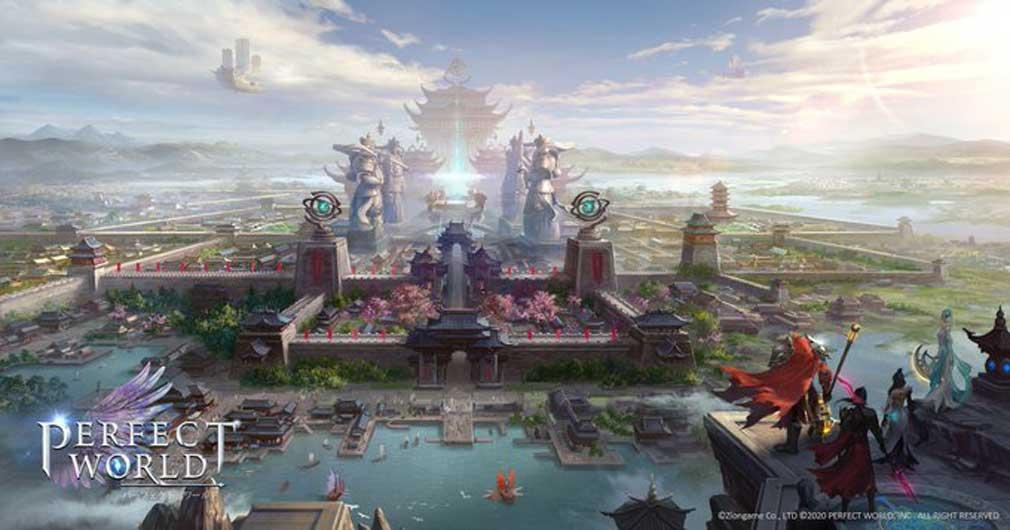 パーフェクトワールドM(完美世界M) 拠点『祖龍の城』紹介イメージ