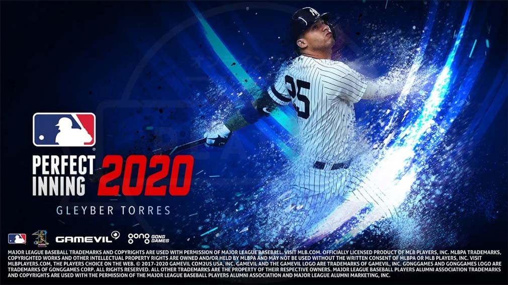 MLBパーフェクトイニング2020 キービジュアル