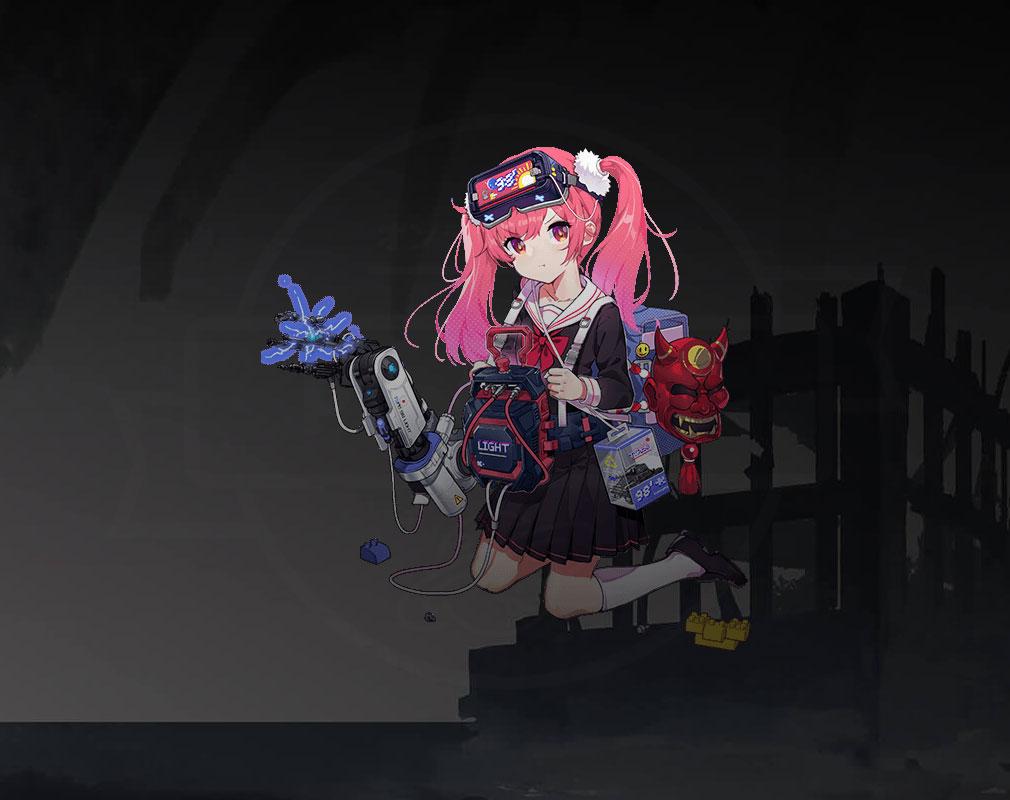 エコーズ オブ パンドラ(Echoes of Pandora)エコパン キャラクター『九八式軽戦車』紹介イメージ