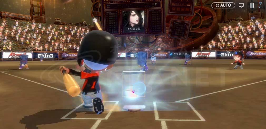 ベースボールスーパースターズ(ベボスタ) 新感覚バッティングシステム『ひっぱりバッティング』スクリーンショット