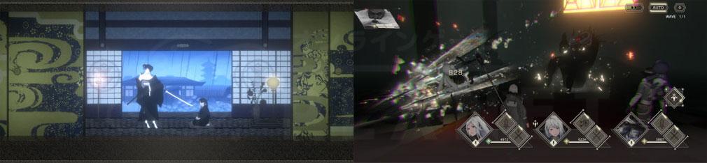 NieR Re[in]carnation(ニーア リィンカーネーション) 『記憶』『戦闘』スクリーンショット