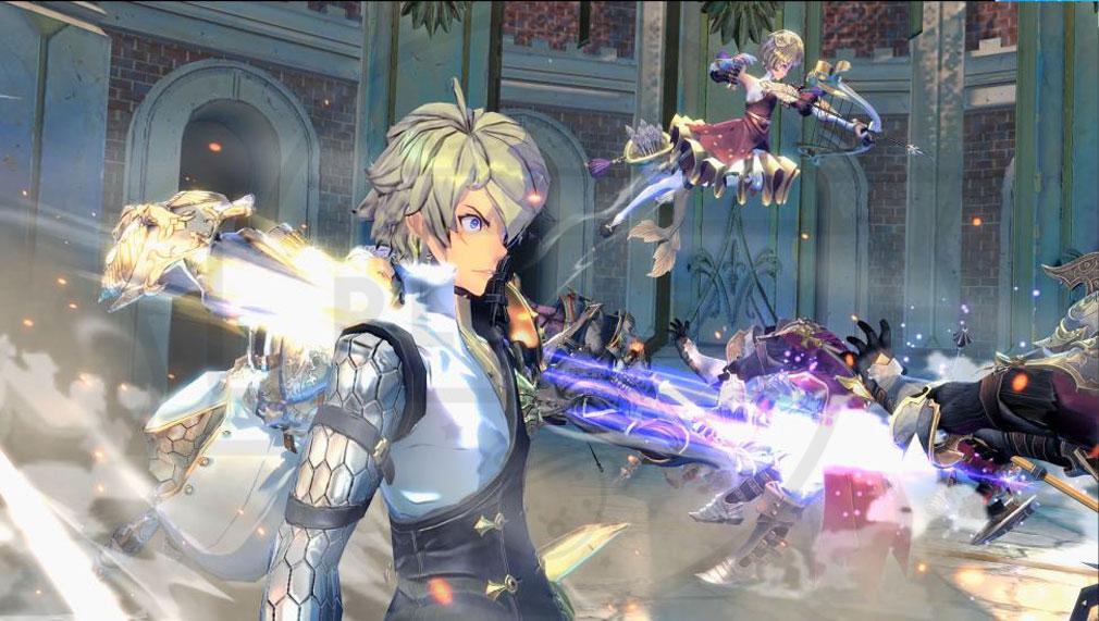 Exos Heroes (エグゾス ヒーローズ) 3Dのリアルタイムレンダリングで描かれた重要なストーリースクリーンショット