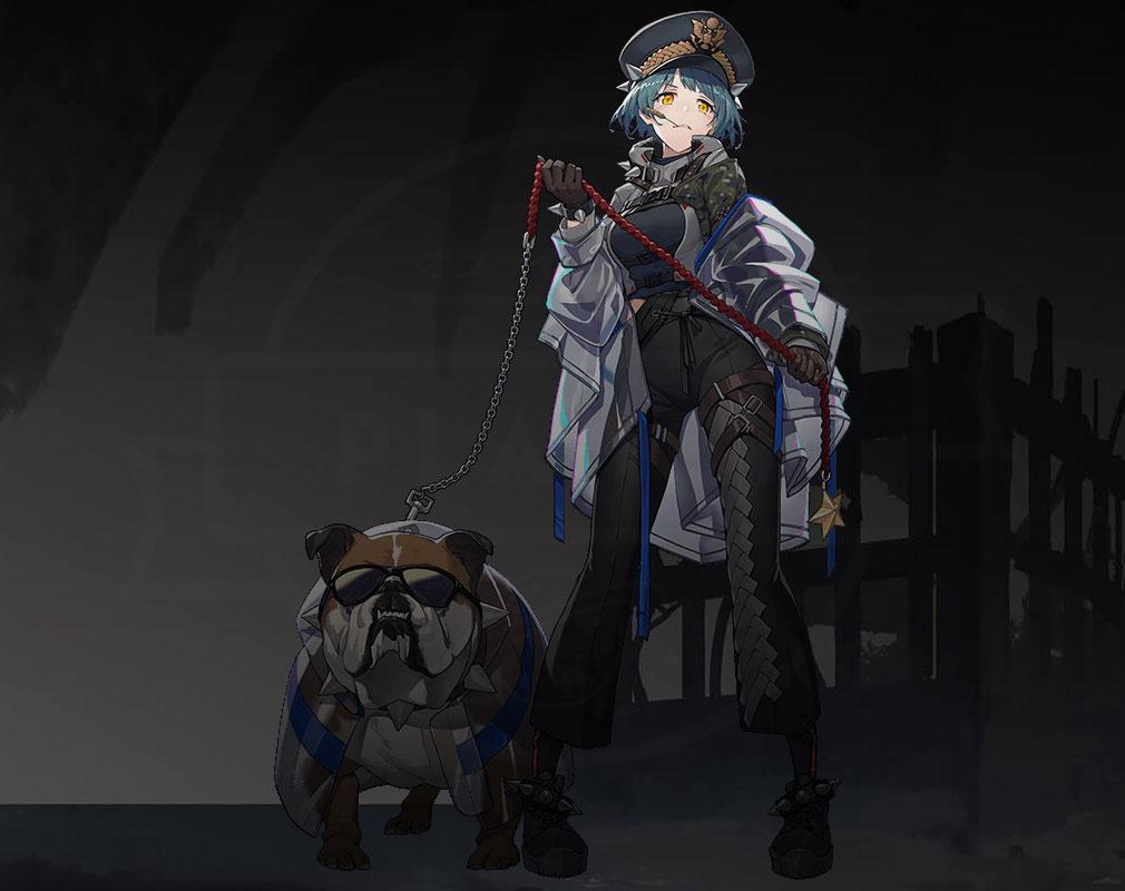 エコーズ オブ パンドラ(Echoes of Pandora)エコパン キャラクター『M41 ブルドッグ』紹介イメージ