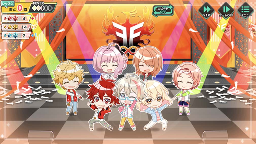アイチュウ Étoile Stage(エトステ) トップアイドルに育成するスクリーンショット