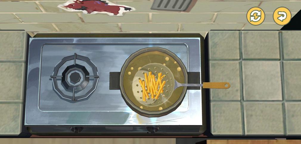 こもりライフ たっぷりの油で揚げるスクリーンショット