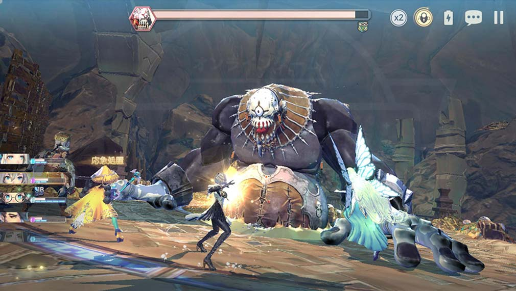 Exos Heroes (エグゾス ヒーローズ) マルチプレイスクリーンショット