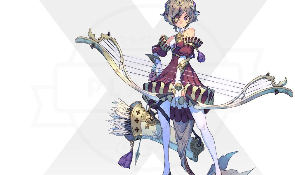 Exos Heroes (エグゾス ヒーローズ) 主要キャラクター『レラ(RERA)』紹介イメージ
