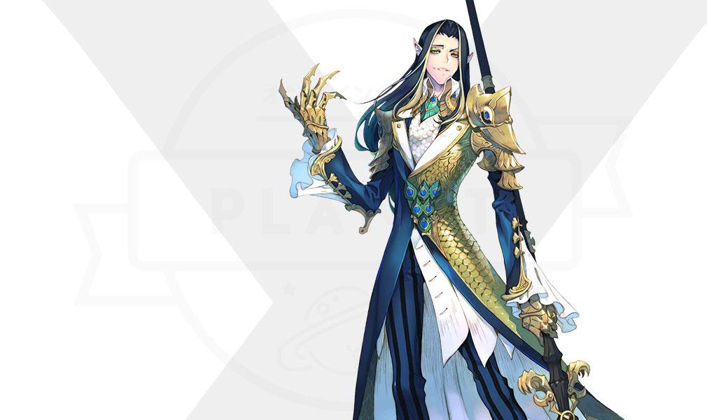 Exos Heroes (エグゾス ヒーローズ) 主要キャラクター『シャーカン(XIAKHAN)』紹介イメージ