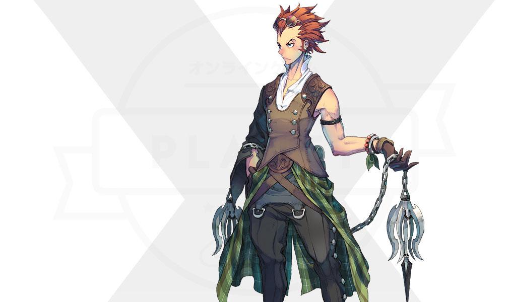Exos Heroes (エグゾス ヒーローズ) 主要キャラクター『ゲイル(GALE)』紹介イメージ
