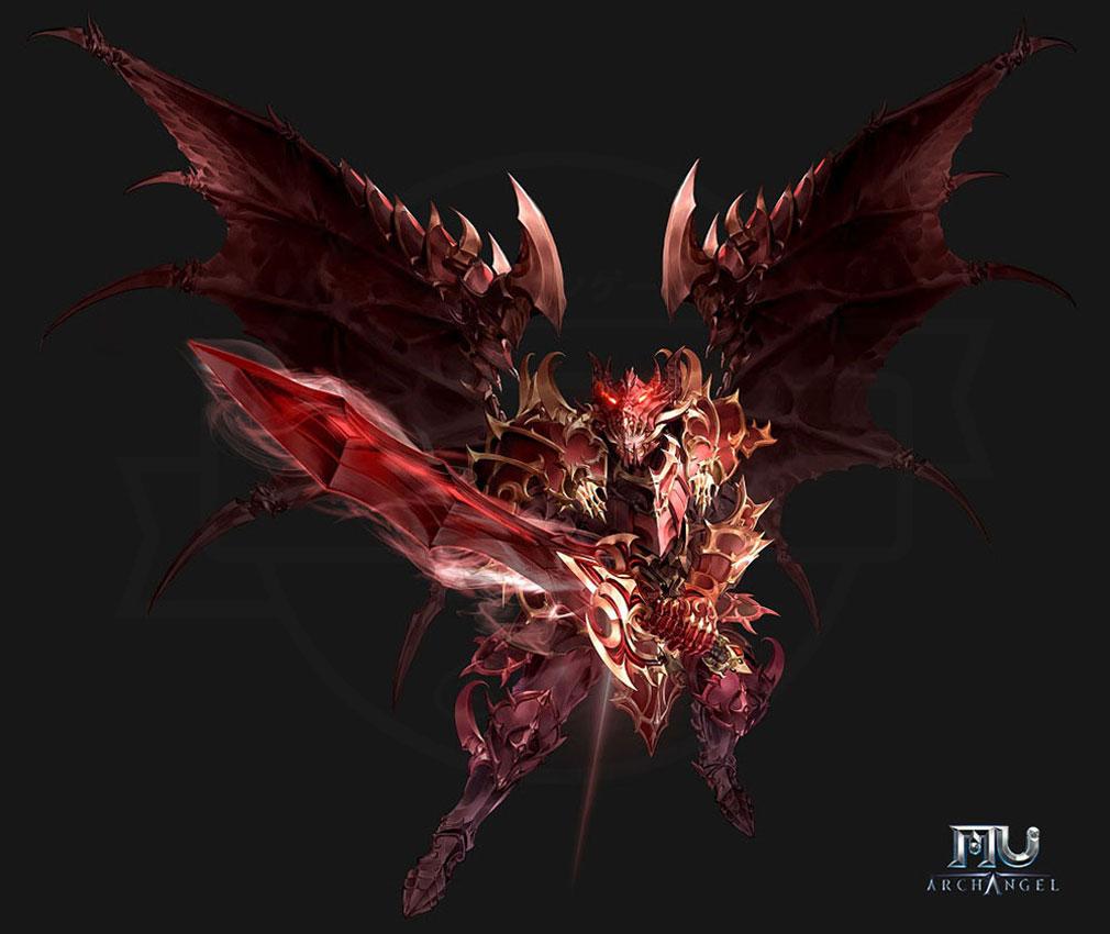 MU Archangel(MUアークエンジェル) 職業『ダークナイト(Dark Knight)』紹介イメージ