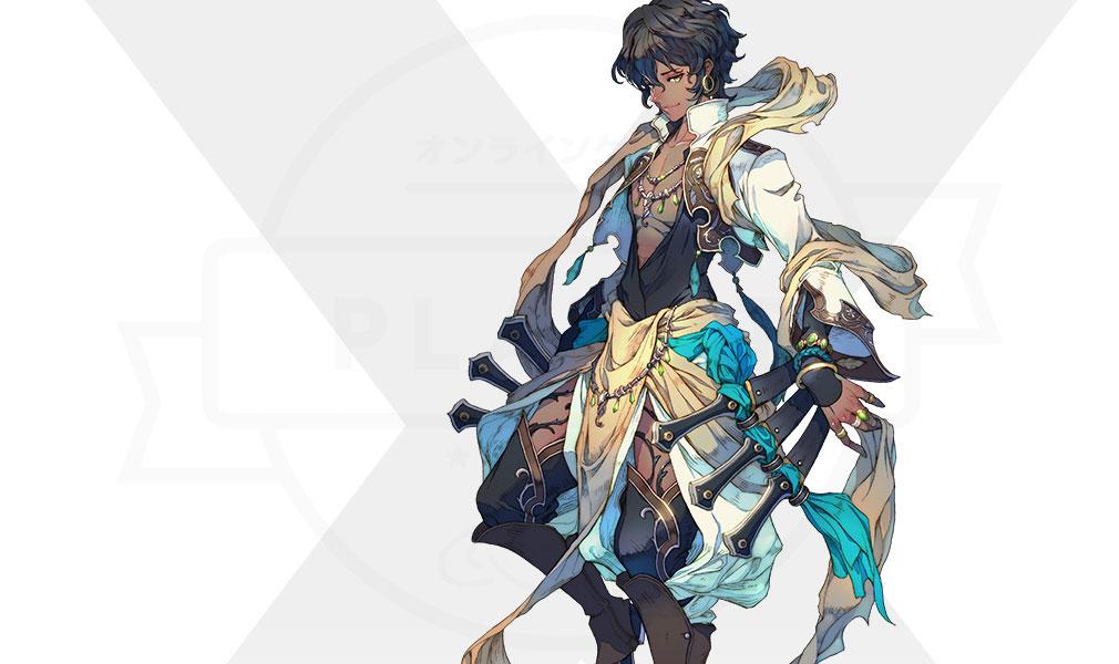 Exos Heroes (エグゾス ヒーローズ) 主要キャラクター『バラカ(BARAKA)』紹介イメージ