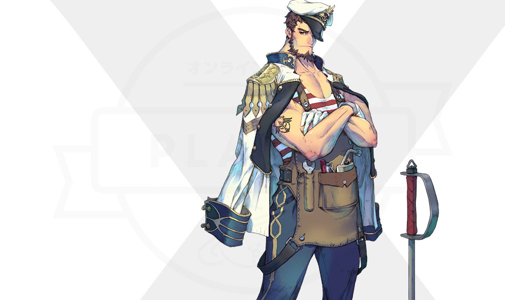 Exos Heroes (エグゾス ヒーローズ) 主要キャラクター『グレン(GLENN)』紹介イメージ