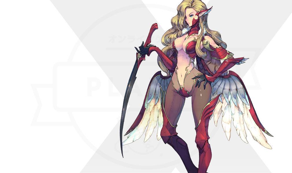 Exos Heroes (エグゾス ヒーローズ) 主要キャラクター『サブリナ(Sabrina)』紹介イメージ