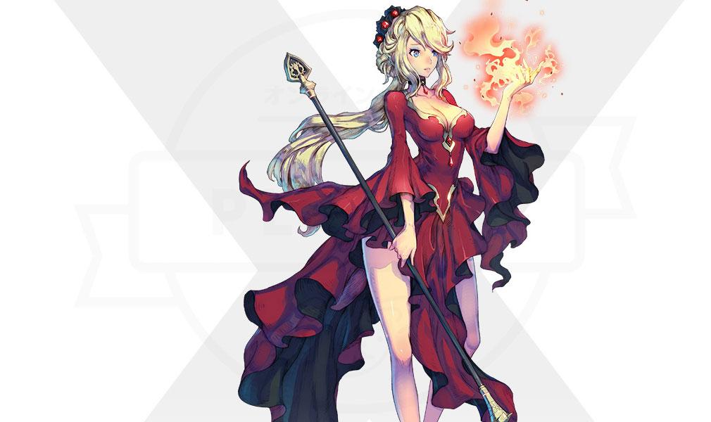 Exos Heroes (エグゾス ヒーローズ) 主要キャラクター『スカーレット(Scarlet)』紹介イメージ