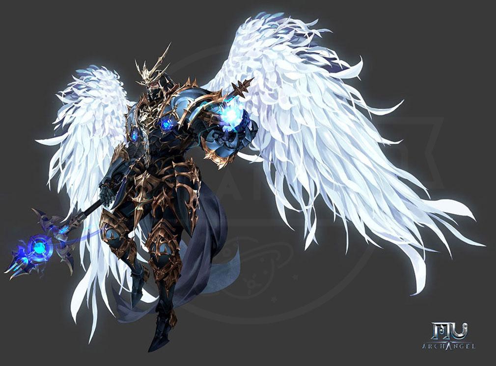 MU Archangel(MUアークエンジェル) 職業『ダークウィザード(Dark Wizard)』紹介イメージ