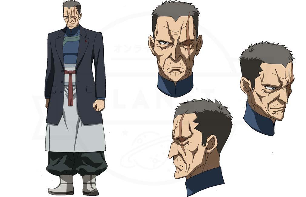 機動戦士ガンダム 鉄血のオルフェンズG(ウルハン) キャラクター『デムナー・キタコ・ジュニア』紹介イメージ