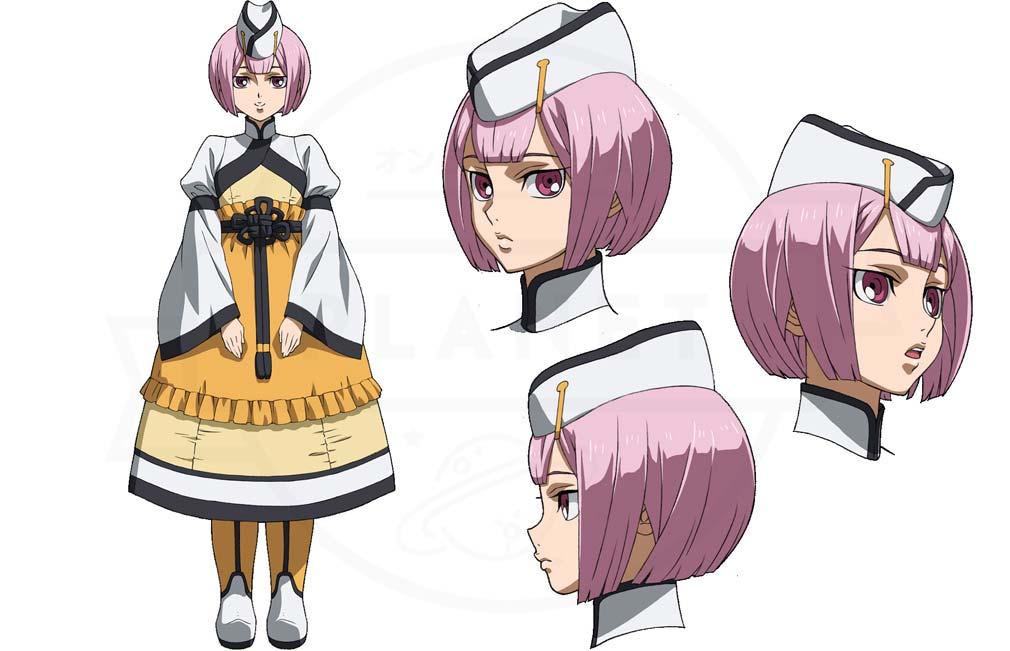 機動戦士ガンダム 鉄血のオルフェンズG(ウルハン) キャラクター『コルナル・コーサ』紹介イメージ
