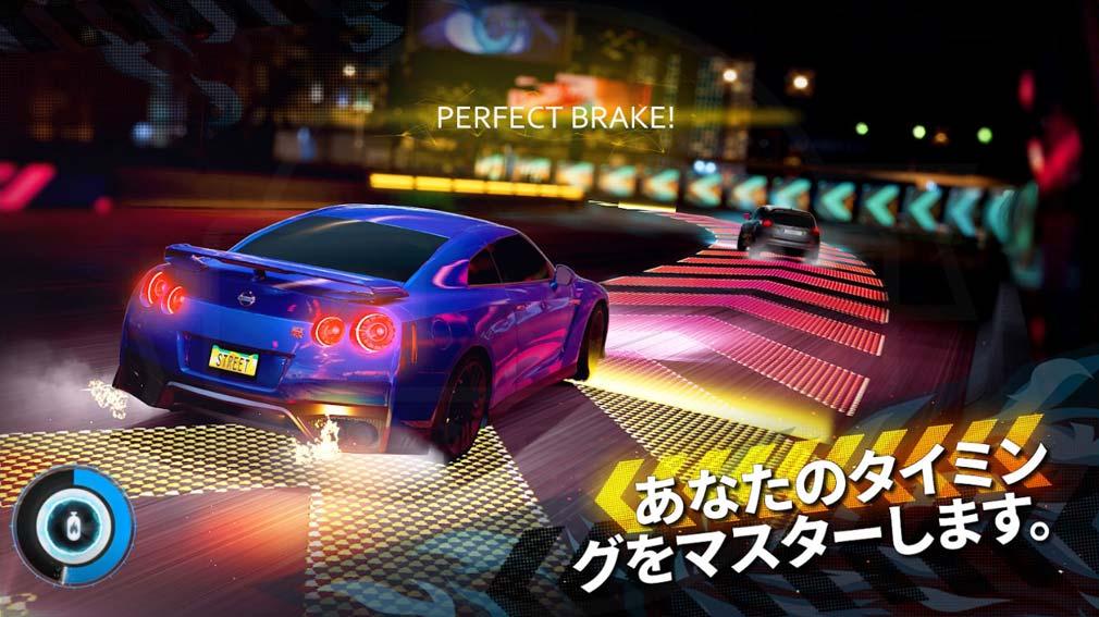 Forza Street(フォルツァ・ストリート) 操作コントロール紹介イメージ