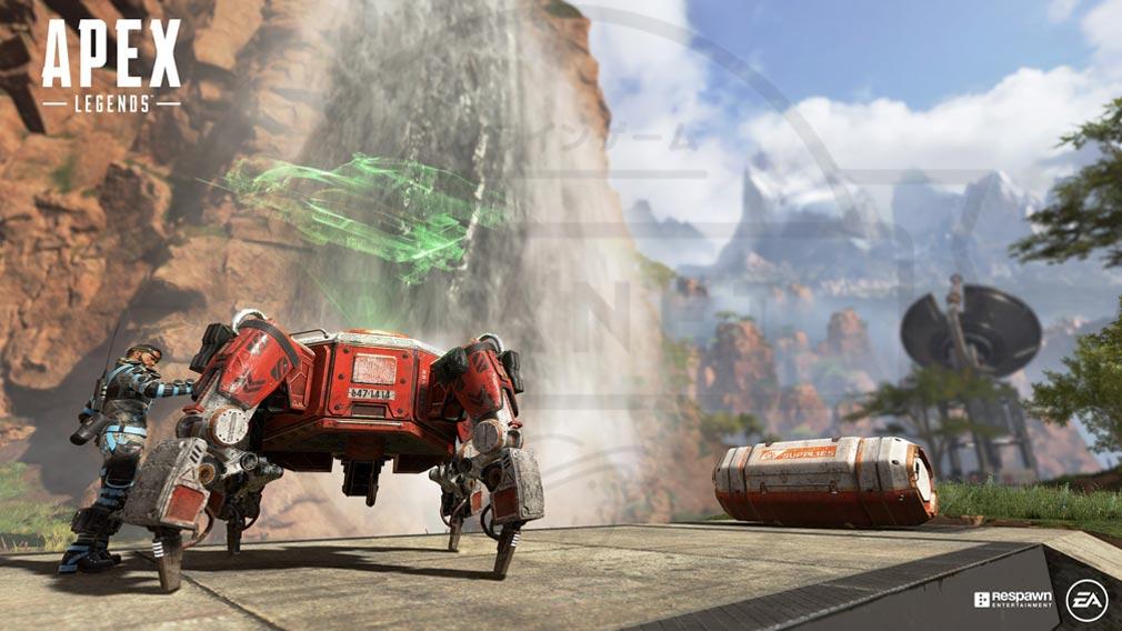 Apex Legends ロボットも登場するスクリーンショット