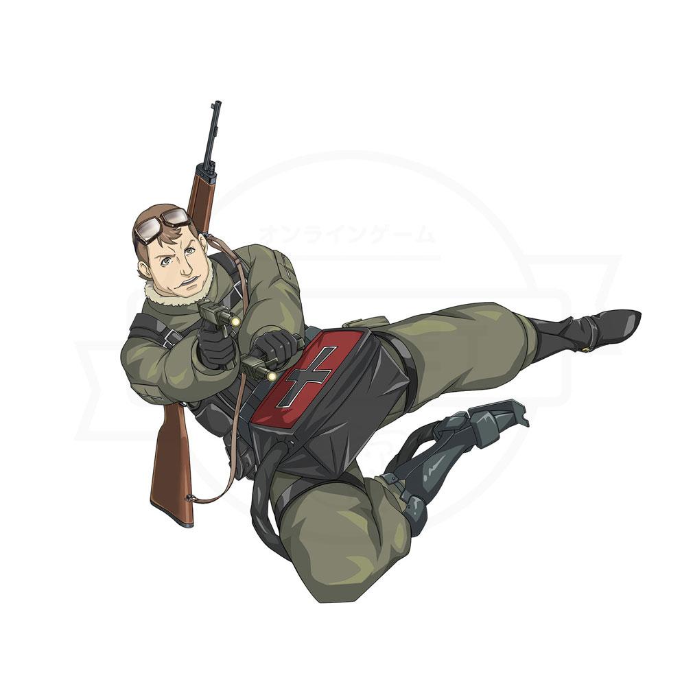 幼女戦記 魔導師斯く戦えり(まどかく) ポジション『サイドアーム』紹介イメージ