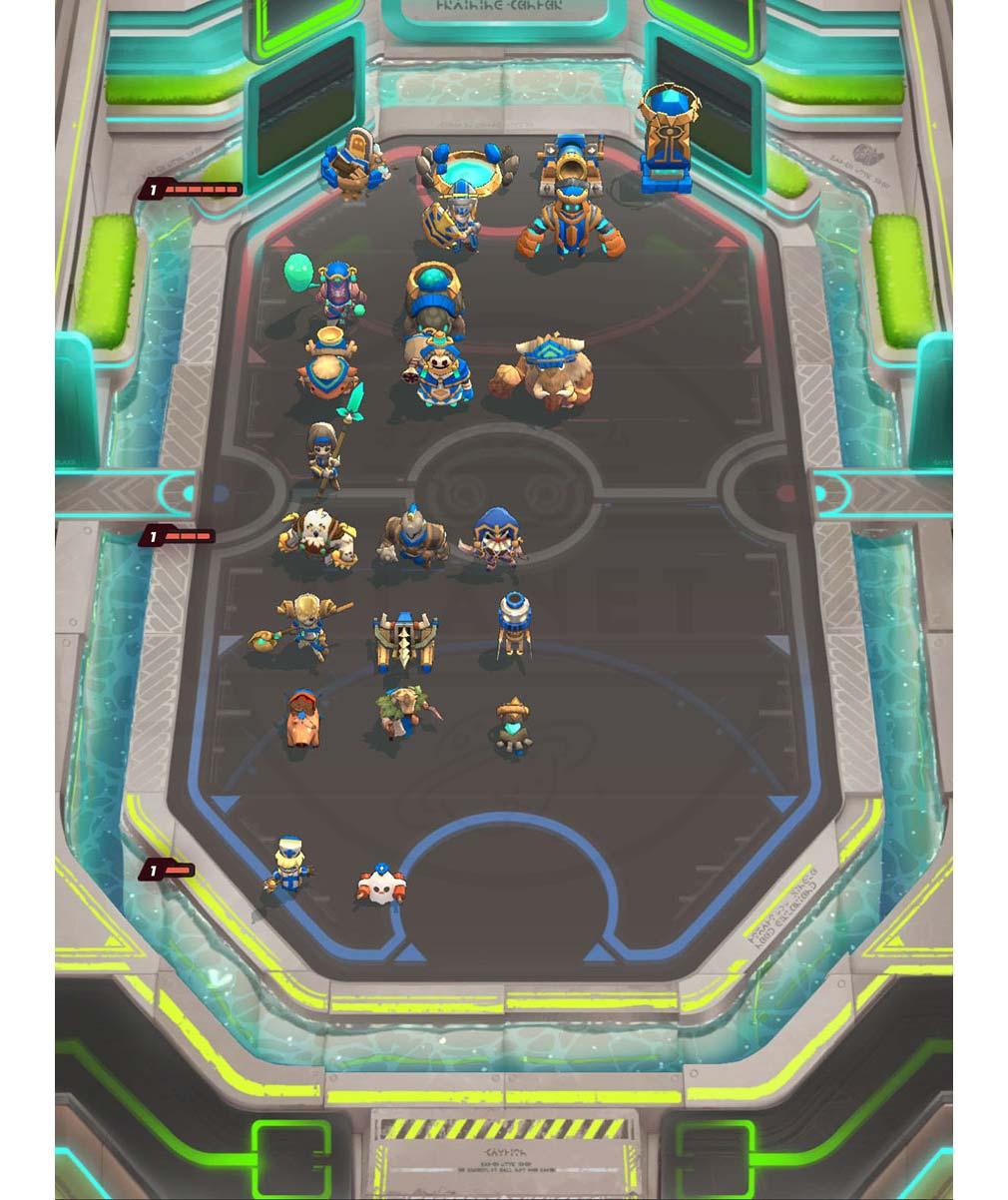 Soul of Eden(ソウル オブ エデン) フィールド上でも迅速にユニットのHPが確認できるスクリーンショット
