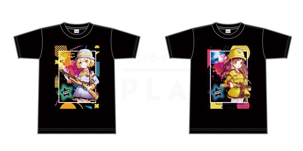 G123ショップ 英雄Tシャツ『アリア』『ティナ』紹介イメージ