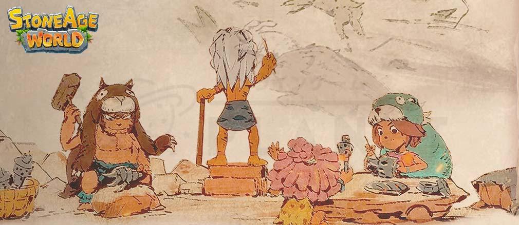 ストーンエイジ ワールド(Stoneage World) フッターイメージ