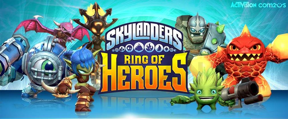 スカイランダーズ リング・オブ・ヒーロー(Skylanders Ring of Heroes) フッターイメージ