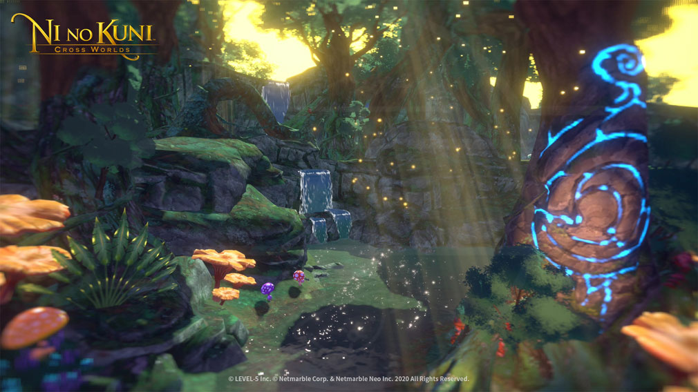 二ノ国 CROSS WORLDS 美しいファンタジー世界スクリーンショット