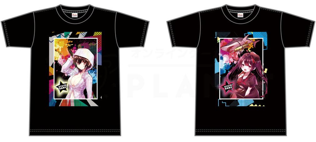 G123ショップ 英雄Tシャツ『アイ』『フーカ』紹介イメージ